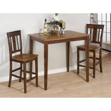 three piece dining set:  piece counter height dining set
