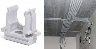 <b>Клипсы</b> для <b>проводов</b>: с гвоздиком, декоративные, для монтажа ...