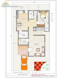 Duplex House Plan and Elevation   Sq  Ft    a taste in heavenDuplex House Plan and Elevation Ground Floor Plan   Sq M   Sq