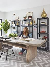 spotted go cart 5 shelf carbon bookcases in genevieve gorders home office via copy bookcases for home office