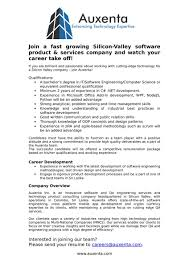 creative experienced software engineer resume project creative experienced software engineer resume project auxenta inc twitter are hiring you like join our