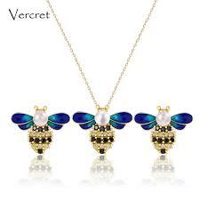 2019 <b>Vercret 18k Gold</b> Freshwater Pearl Jewelry Sets <b>925</b> Sterling ...