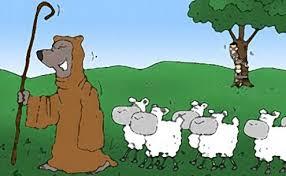 Resultado de imagem para pastores ou lobos charges