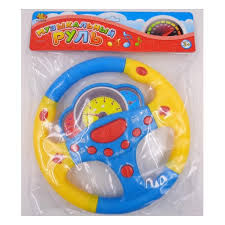 Обучающая <b>игрушка ABTOYS</b> Руль музыкальный ...