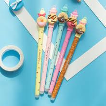 Coloffice 1 шт. Милые Пончики стираемая <b>ручка</b> мультяшная ...