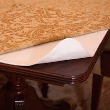 Table Pads For Dining Room Table Amazoncom Deluxe Cushioned Heavy Duty Table Pad 52quot X 108