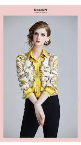 <b>ARiby Women</b> Blouse Elegant Casual Printed Shirts Spring New ...