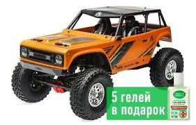 <b>Краулер</b> 1:10 <b>Axial Wraith</b> 1.9 4WD, электро, RTR (оранжевый)