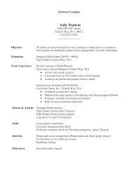 resume for hospital job perfect resume  hospital
