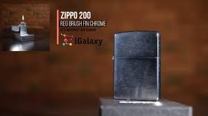 <b>Зажигалка Zippo</b> 200 <b>CLASSIC</b> brushed chrome - YouTube