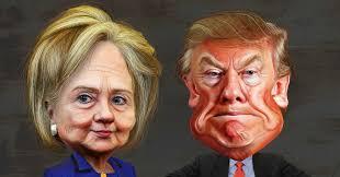 """Résultat de recherche d'images pour """"Trump and Clinton"""""""
