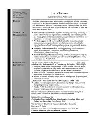 secretary resume example   samplesecretary resume example