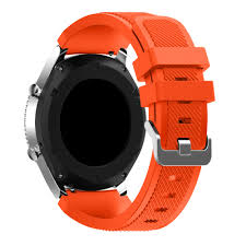Bemorcabo 22mm Gear S3 <b>Silicone</b> Watch <b>Band Bracelet</b> ...