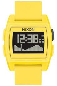 <b>Часы Nixon Base Tide</b> A/s Yellow Resin O/s (Yellow)   www.gt-a.ru