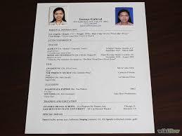 how does a resume look like  tomorrowworld cohow