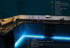 RGB Flexible Light Strips Line Under Cabinets For Accent Lighting 03  X