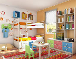 ravishing wall decor for kids room design with white wood bunk bed and ladder also white carpets bedrooms ravishing home