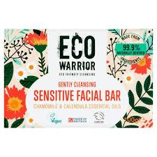 Eco Warrior Gently <b>Cleansing</b> Sensitive <b>Facial Bar</b> Chamomile ...