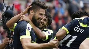 Image result for OLIVIER GIROUD AGAINST SUNDERLAND