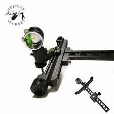1 set compound bow balance archery stabilizer bar rod weight carbon damper sliencer shooting honting accessories