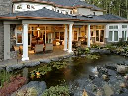 Emerald Ridge Luxury Home Plan S    House Plans and MoreEuropean House Plan Outdoor Living Photo   S    House Plans and More