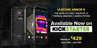 <b>Ulefone Armor 9</b> with <b>thermal</b> imaging camera goes live on ...