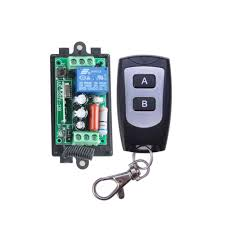high power ac220v 10a wireless remote control radio white controller switch 220v 1ch receiver and 4transmitters