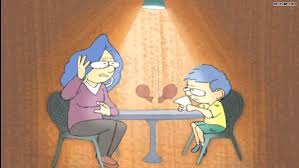Image result for conversation between mother and son