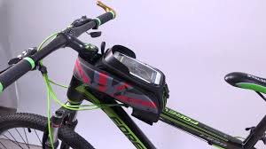 <b>ROCKBROS Bike</b> Top Front Tube Frame Bag Water Resistant ...