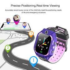 <b>E12</b> Children Telephone Intelligent Watch LBS Location One-button ...
