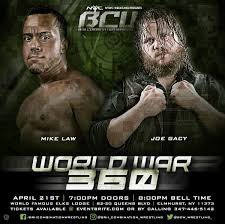 marc hauss the auss twitter although not remotely promoted right ajpan pca this fri night bcw wrestling i face joegacy in the opening of the bcw title tourneypic com