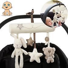 Lovely <b>Baby</b> Pram <b>Rattle Baby</b> Musical Plush <b>Crib</b> Stroller Hanging ...
