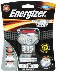 "<b>Фонарь Energizer</b> ""<b>Headlight Vision</b> HD+Focus"", светодиодный ..."