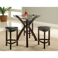 three piece dining set: hokku designs  piece counter height dining set