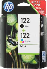 Купить <b>Картридж HP</b> 122, черный / трехцветный в интернет ...