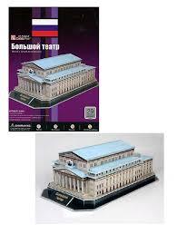 <b>CubicFun 3D Puzzle</b> 149h <b>Большой театр</b> (Россия) | игрушки по ...