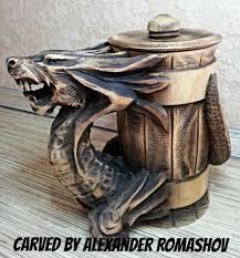 Details about Wooden Mug Tankard <b>Beer</b> Stein Cup <b>Barrel</b> ...