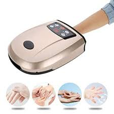 <b>Palm Hand Massager Electric</b> Acupressure Protector Beauty <b>Hand</b> ...