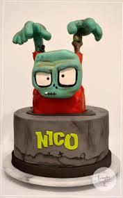 Zombie Infection Cake - cake by evangelinedulzuras | <b>Zombie cake</b> ...