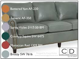 gray_sofa_crlaine_intieror_design_paint_color can you paint leather furniture