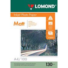 <b>Фотобумага Lomond</b> 0102004 двухсторонняя матовая, <b>A4</b>, 100 ...