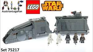 <b>Lego Star Wars 75217</b> Imperial Conveyex Transport Speed Build