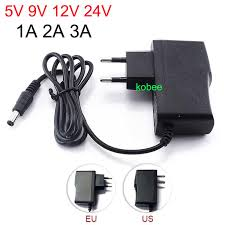 Online Shop Power Adapter Supply 110V-220V AC to <b>DC 5V 12V</b> ...