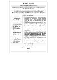 resume samples cv template cv sample primary teacher profile