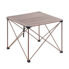water-repellent Lixada <b>camping folding</b> desk <b>7075</b> aluminium alloy ...