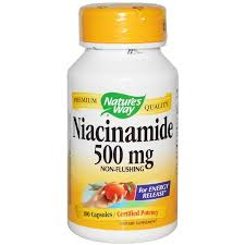 Отзывы Nature's Way, <b>Никотинамид</b>, <b>500 мг</b>, 100 капсул | B3 Ниацин