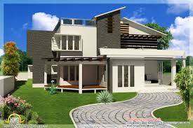 Square Feet Kerala Home Design Design Modern House Plan    unique contemporary modern house plans modern contemporary house design
