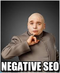 Negative Seo - Dr Evil meme on Memegen via Relatably.com