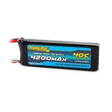 HobbyStar 4200mAh 3S 11.1V 40C <b>LiPo Battery</b> Deans <b>Drone</b> Heli ...