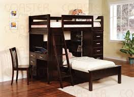bunk bed with futon and desk ideas bunk bed desk trundle
